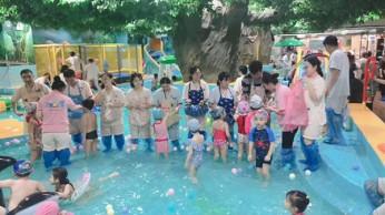 儿童水上乐园闯关组合